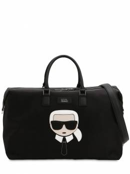 K/ikonik Patch Nylon Weekender Bag Karl Lagerfeld 71IXFS027-QTk5OQ2