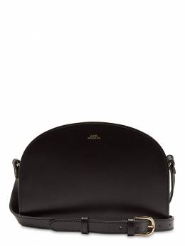 Demi Lune Smooth Leather Bag A.P.C. 71IJ5N001-TFpa0