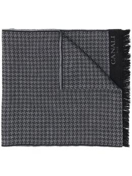 Canali шарф в ломаную клетку MF00150
