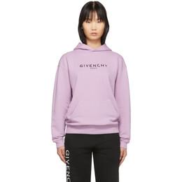 Givenchy Purple Vintage Hoodie 201278F09705802GB
