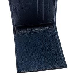 Montblanc Black Leather Sartorial Wallet 6CC 249329
