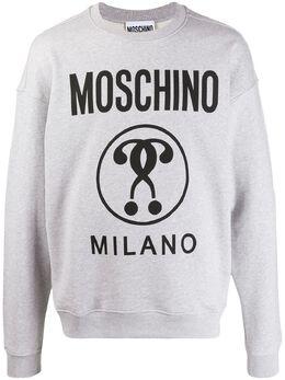 Moschino толстовка с логотипом 17042027