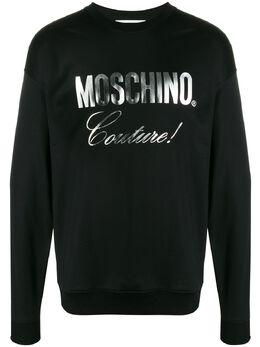 Moschino толстовка с логотипом ZPA17262029