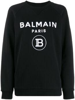 Balmain толстовка с логотипом TF13691I346