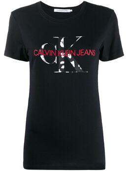 Calvin Klein Jeans футболка с логотипом J20J213035