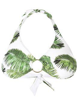 Melissa Odabash foliage print ring bikini top BRUSSELSTOP