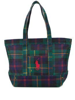 Polo Ralph Lauren сумка-тоут в шотландскую клетку 428761408001