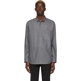 Boss Grey Flannel Shirt 201085M19207404GB