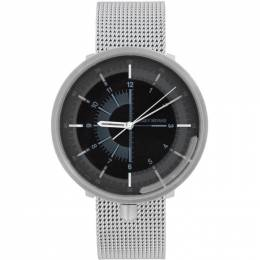 Issey Miyake Men White and Black Nao Tamura 1/6 Series Watch 201728M16513501GB