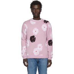 Saturdays Nyc Purple Kang Moon Flower Sweater 201899M20100405GB