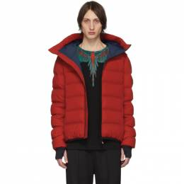Moncler Grenoble Red Down Lagoria Jacket 192826M17801802GB