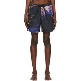Double Rainbouu Black Animal Kingdom Swim Shorts 201062M20800805GB