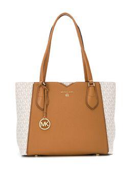 MICHAEL Michael Kors сумка-тоут Mae среднего размера с логотипом 30H9GM5T8B