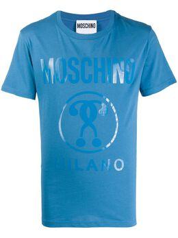 Moschino футболка с логотипом 07062040