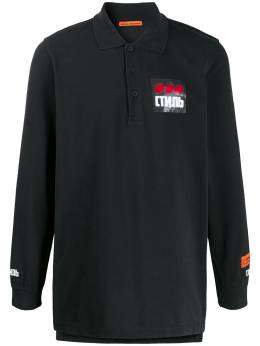 Heron Preston long-sleeve polo shirt HMGC003F198110040488