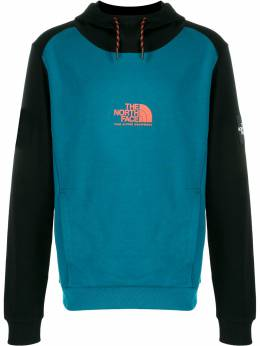 The North Face logo-print hooded sweater T93YX3EFS