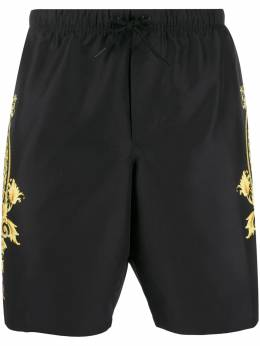 Versace плавки-шорты с принтом Barocco ABU06020A233126