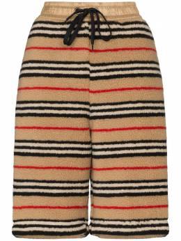 Burberry Holwell Stripe fleece track shorts 8023353