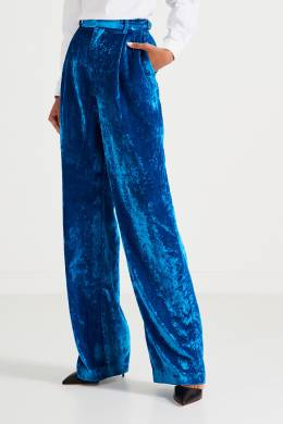 Синие брюки из бархата Attico 1869167090