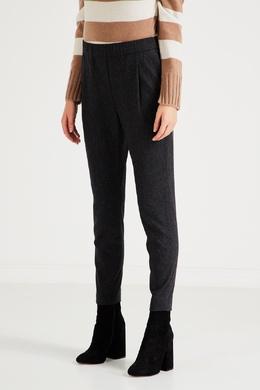 Темно-серые брюки из шерсти Fabiana Filippi 2658167201