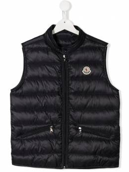 Moncler Kids TEEN quilted down gilet 1A1112053334