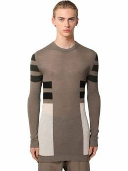 Virgin Wool Knit Sweater Rick Owens 71IATE018-MzQ3NTk40