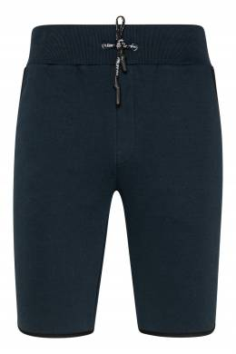Синие шорты с кантом на карманах Philipp Plein 1795167840