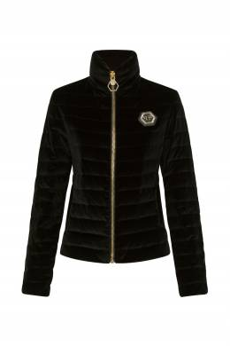 Черная бархатная куртка Philipp Plein 1795167844