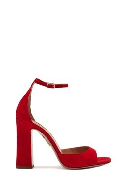 Красные босоножки Capucine Sandal 105 Aquazzura 975167974