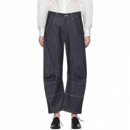 Y's Indigo U-Gusset Wide Jeans 201731F06902501GB