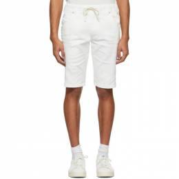 Diesel White D-Krooshort Shorts 201001M19315107GB