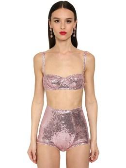 Бюстгальтер С Пайетками Dolce&Gabbana 71IB41079-RjI1Mjg1
