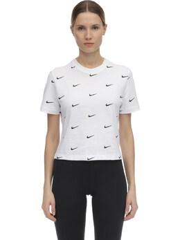 Nrg Swoosh Logo Cotton T-shirt Nike 70IXTR033-MTAw0