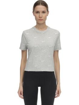 Nrg Swoosh Logo Cotton T-shirt Nike 70IXTR033-MDUw0