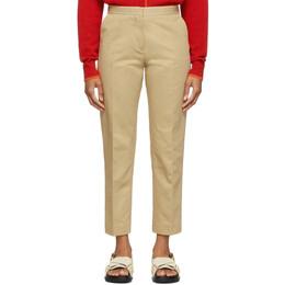 Marni Tan Crop Trousers 201379F08708102GB
