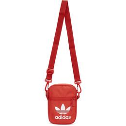Adidas Originals Red Trefoil Festival Bag FL9664