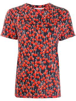 Victoria Victoria Beckham футболка с принтом 2120JTS000451A