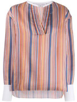 Victoria Victoria Beckham блузка в полоску 2120WSH000879A