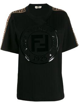 Fendi футболка с принтом Fendi FAF073AB4E