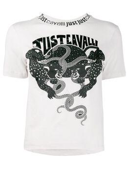 Just Cavalli футболка с логотипом S02GC0393N21463