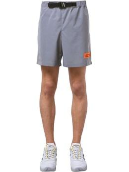 Reflective Tech Shorts W/ Buckle Heron Preston 71IWHP020-MDUwMQ2