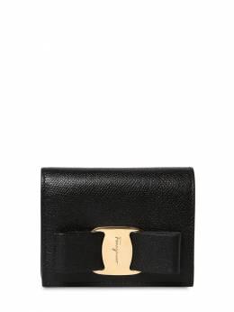 Vara Grained Leather Compact Wallet Salvatore Ferragamo 71IG7Y040-NzI1MzAw0
