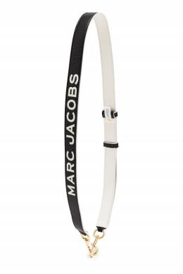 Черно-белый плечевой ремень для сумки The Marc Jacobs 167168767