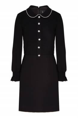 Платье с воротником Питер Пэн и стразами The Marc Jacobs 167168903