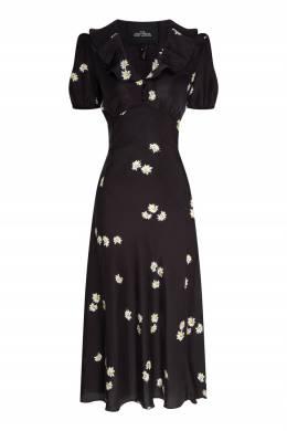 Черное платье с цветочным принтом The Love The Marc Jacobs 167168901