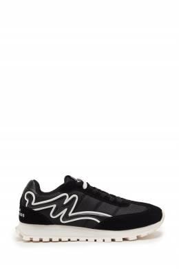 Черно-белые кроссовки The Jogger The Marc Jacobs 167168907