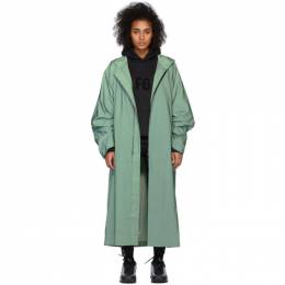 Fear Of God Green Sixth Collection Hooded Raincoat 6H19-6039-LWN