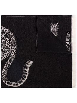 Alexander McQueen шарф с принтом Skull 6047933200Q