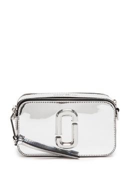 Сумка с зеркальным эффектом The Snapshot The Marc Jacobs 167168822
