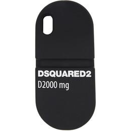 Dsquared2 Black Pill iPhone X Case ITM0073 55000001